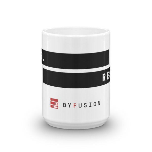 ByFusion Reshape the Future mug, logo