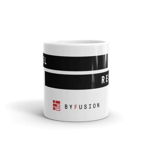 ByFusion Reshape the Future Large mug, logo